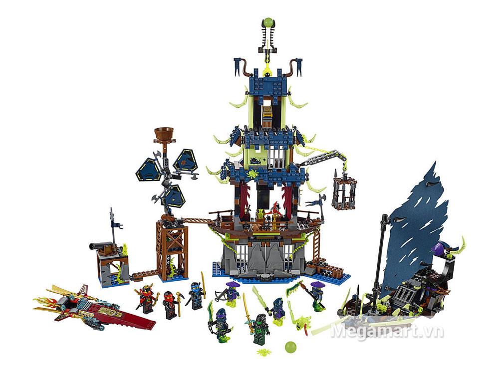 Lego Ninjago 70732 - Ngôi làng Stiix với 1069 miếng ghép mang lại cho bé những trải nghiệm cực kì ấn tượng