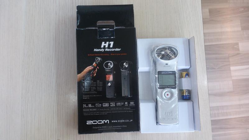Máy ghi âm chuyên nghiệp Zoom H1 Recorder