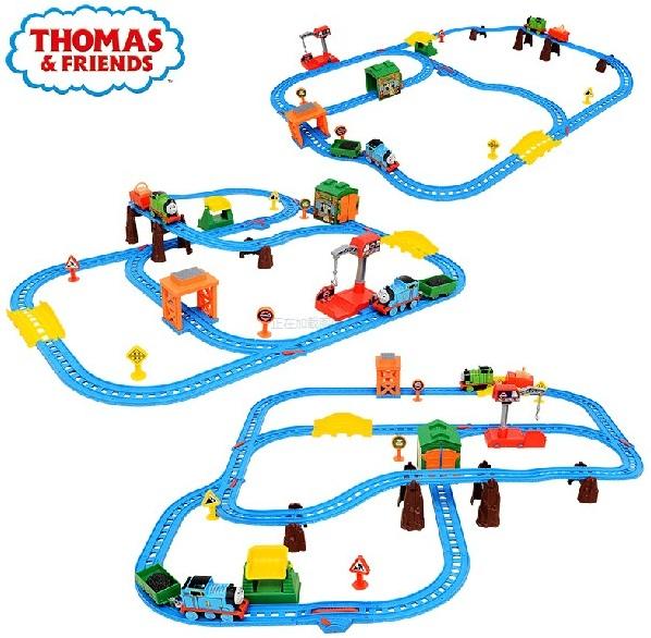 Thomas & Friends Bộ đường ray Một ngày bận rộn cùng Percy