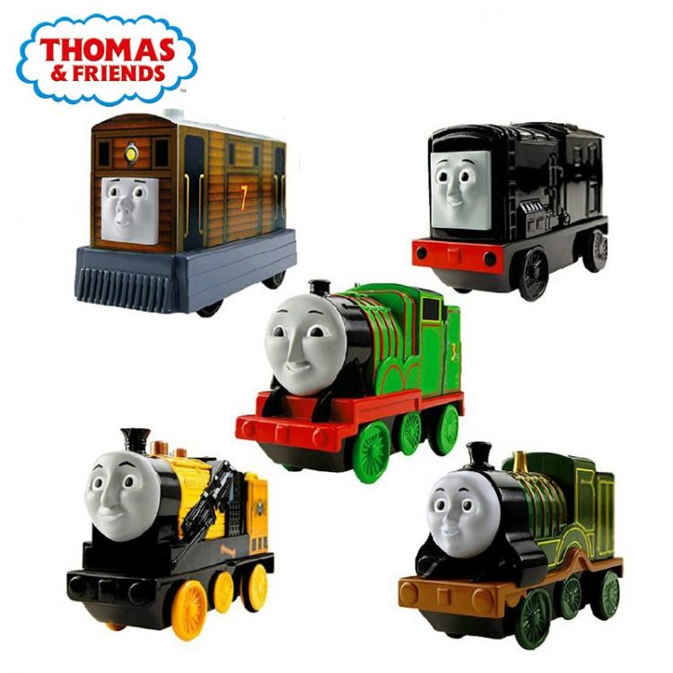 Thomas & Friends Bộ tàu lửa chạy pin - Các nhân vật có trong bộ Thomas này