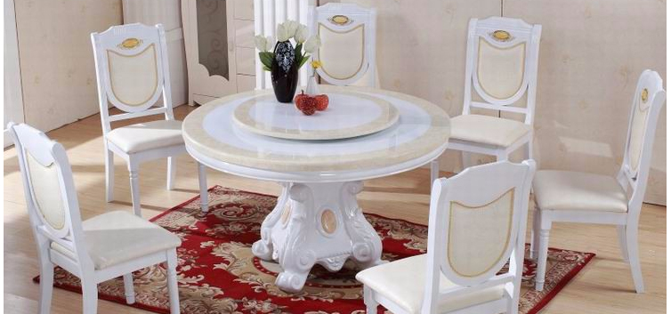 Swivel plate for table
