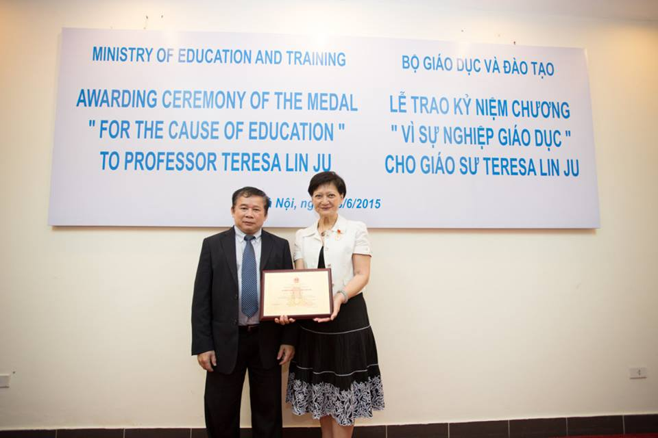 Teresa's Contribution to Vietnam – Taiwan education