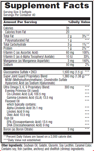 Super-Joint-Guard-ho-tro-xuong-khop-gymstore-nutrition-facts-label