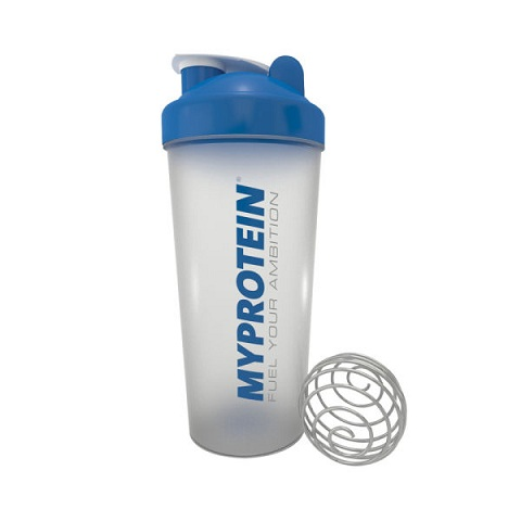 Myprotein Shaker Bottle, Clear/Blue 750 ml