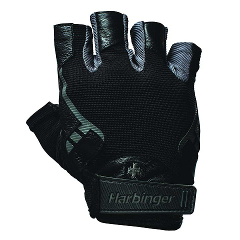 Harbinger Pro Gloves, Black/Grey