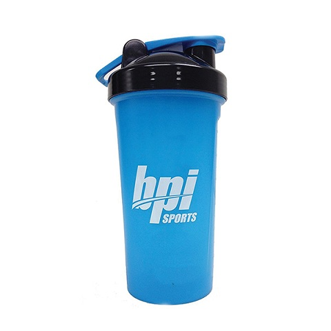 BPI Sport Shaker Bottle Blue & Black, 700ml