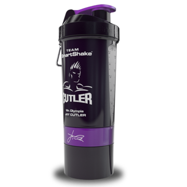 Jay Cutler - Black & Purple Smart Shaker 27 oz (810 ml)