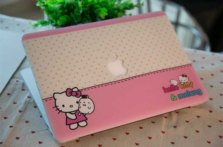 Ốp Macbook 11.6″&13.3″ Hello kitty siêu kute