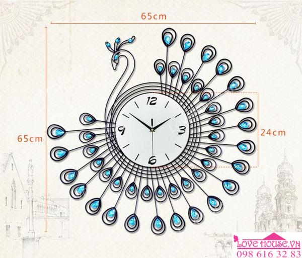 Đồng hồ công xanh