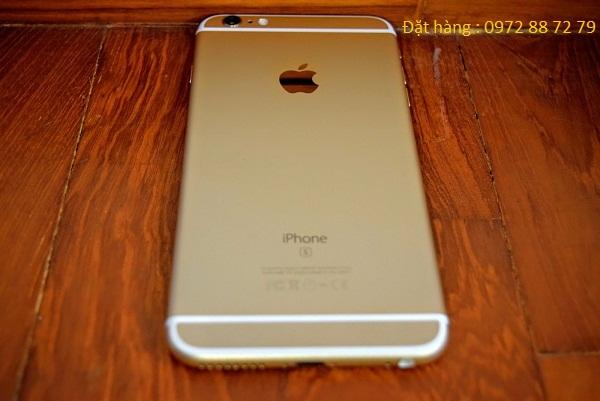 vỏ của iphone 6s plus đài loan được thiết kế bằng kim loại