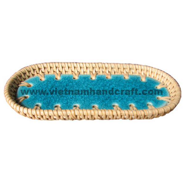 handmade rattan bamboo dishes and plates and charger plates and platters products  sc 1 st  handicraft products vietnam - handcrafted vietnamese giftware items & handmade rattan bamboo dishes and plates and charger plates and ...