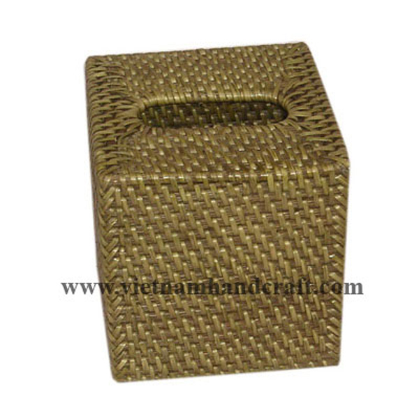 handmade rattan bamboo tissue paper boxes and tissue holders and napkin ring sets products made in vietnam