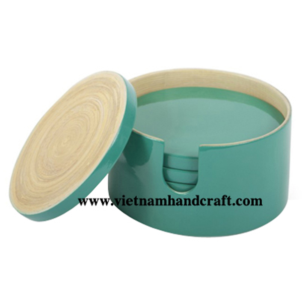 handmade spun bamboo place mats and table mats and coaster sets products  sc 1 st  handicraft products vietnam & handmade spun bamboo place mats and table mats and coaster sets ...