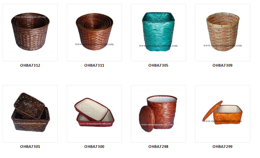 handmade vietnamese bamboo gifts and arts and crafts products