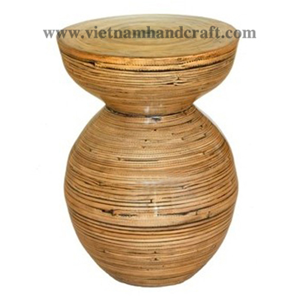 vietnamese coiled bamboo tabletop accessories