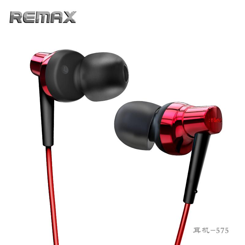 Tai nghe nhét tai Remax RM-575 (Đỏ)