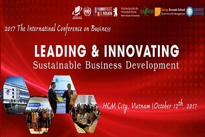 2017 The International Conference on Business - LEADING AND INNOVATING