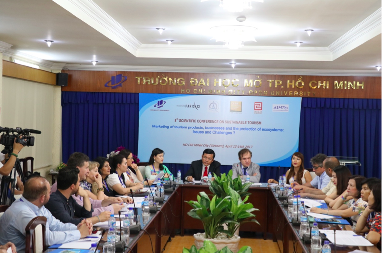 Hội thảo Sustainable Tourism 2017
