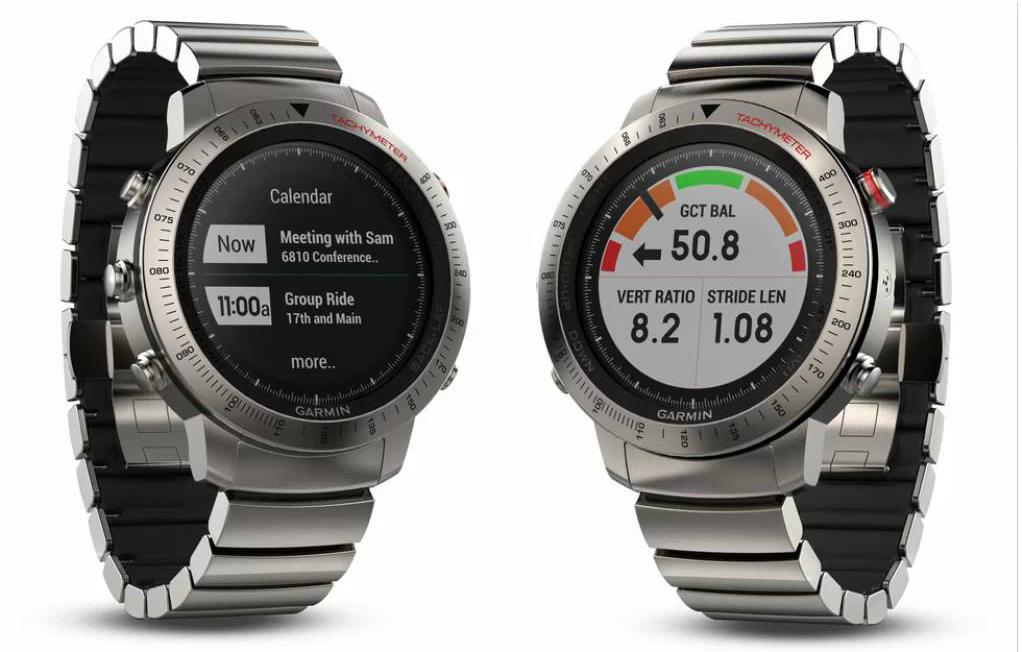 đồng hồ garmin fenix chronos tích hơp cảm biến nhịp tim