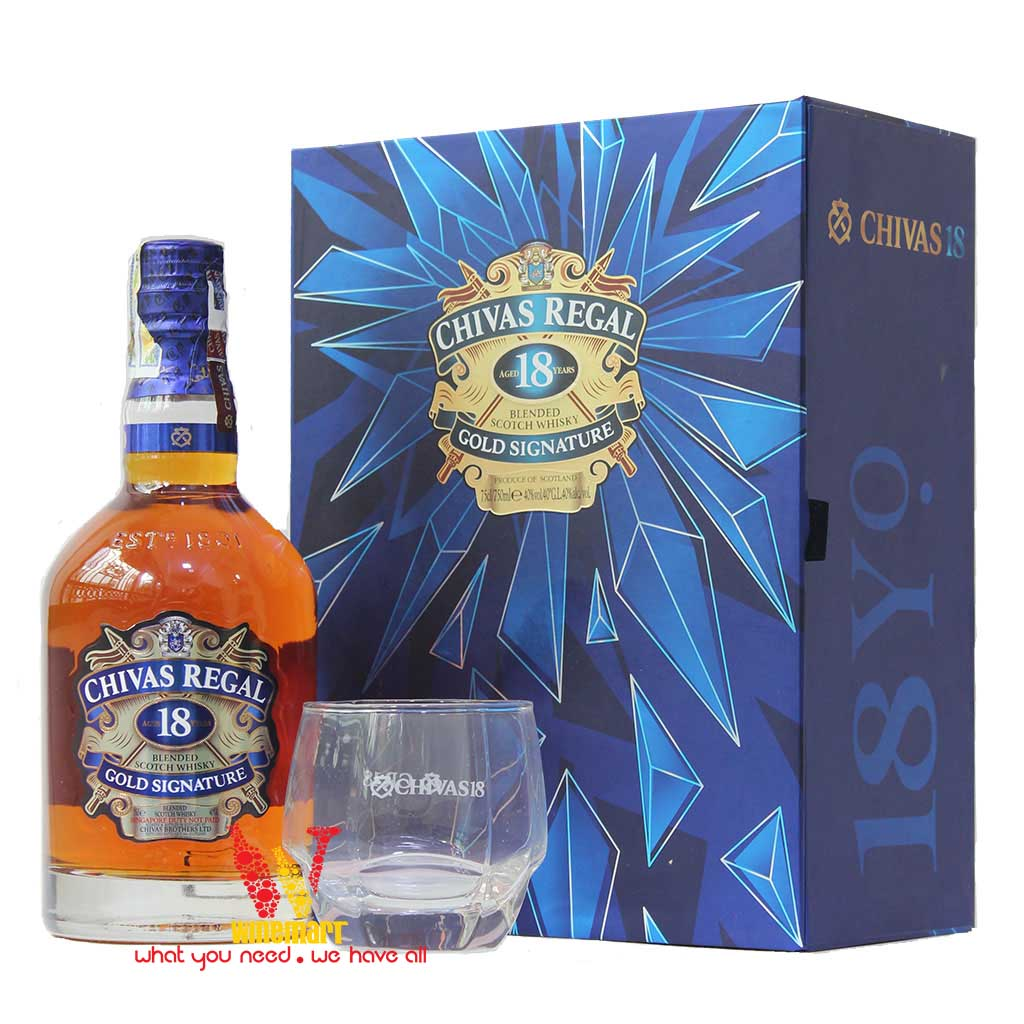 Chivas 18 Years Whisky 750ml