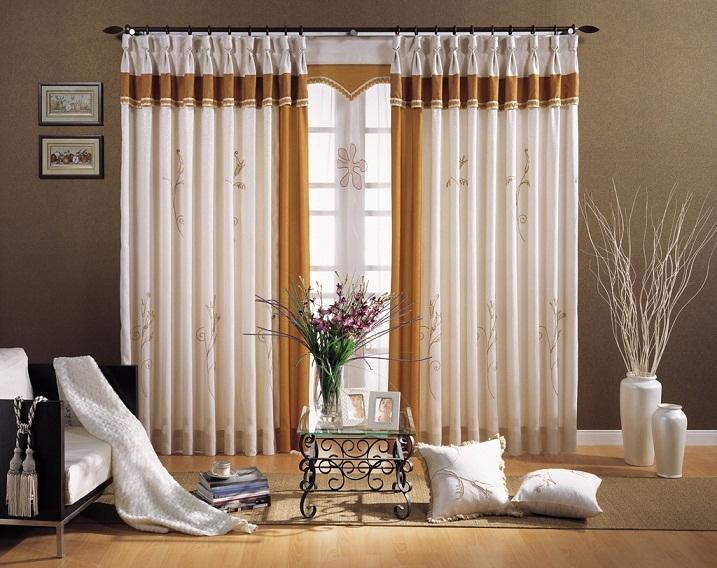 Màu sắc rèm cửa có thể làm nổi bật căn phòng