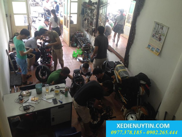 Trung tâm đào tạo dậy nghề sửa chữa xe đạp điện, xe máy điện