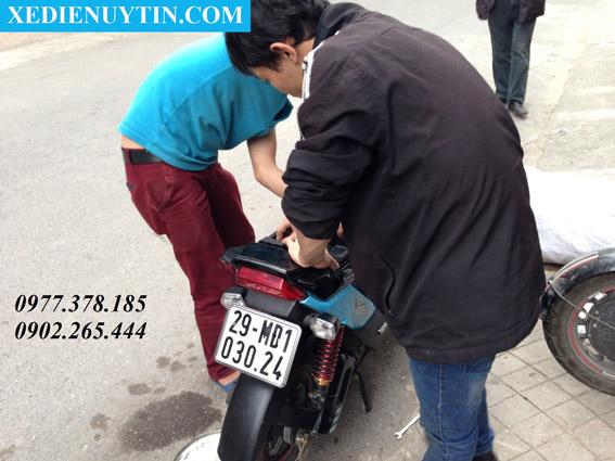 Đăng ký xe máy điện tại hà nội