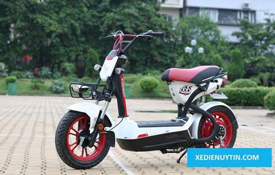 Xe đạp điện Cầu Giấy khuyến mãi giảm giá Vespa, Giant m133s, Nijia 2016...