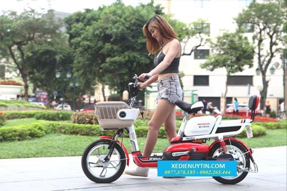 Xe đạp điện Honda A6 nhập khẩu chính hãng 2015 giá rẻ