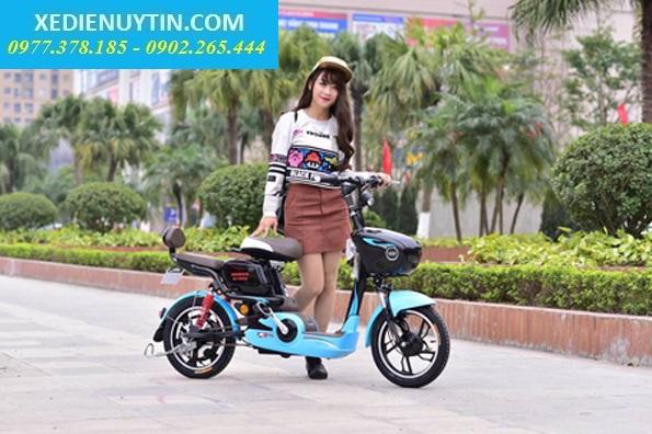 Ban Tra Gop Xe Dap Dien Lai Suat Thap Nijia Giant m133 Zoomer VespaCam Ket Chinh Hang - 2