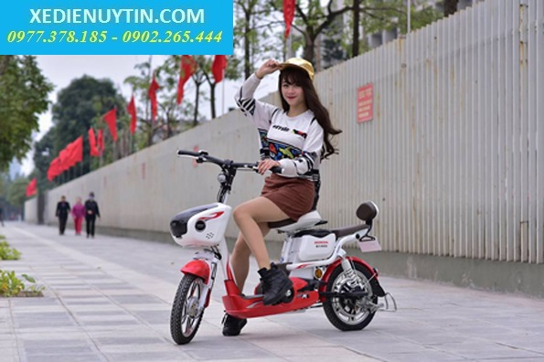 Ban Tra Gop Xe Dap Dien Lai Suat Thap Nijia Giant m133 Zoomer VespaCam Ket Chinh Hang
