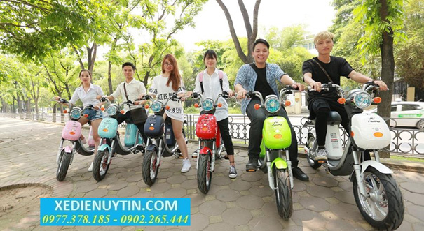 Tu van mua xe dap dien Nijia nhap khau chinh hang 2016 gia re nhat Ha Noi
