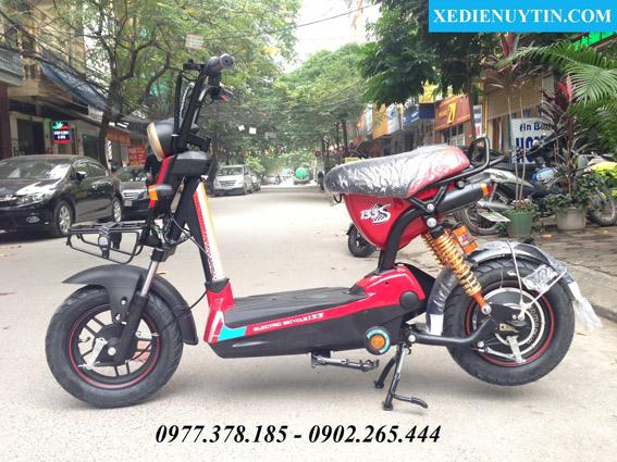 Xe đạp điện Giant m133s mầu đỏ