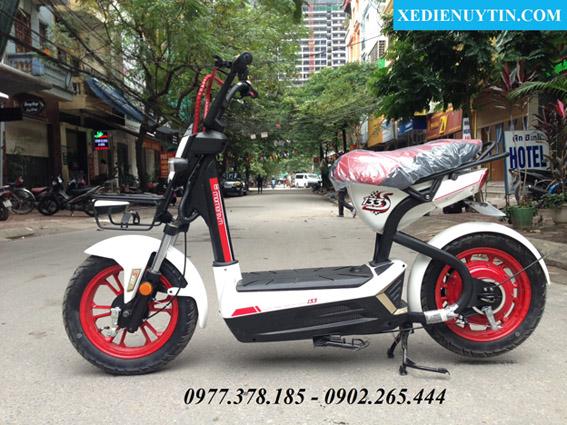Xe đạp điện Giant m133s chính hãng mầu trắng