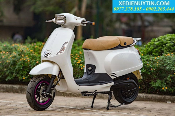 Giới thiêu xe máy điện Vespa Lx  chính hãng mới nhất 2016