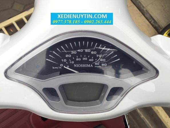 Nhận biết xe máy điện Vespa Nioshima chính hãng mới nhất 2016