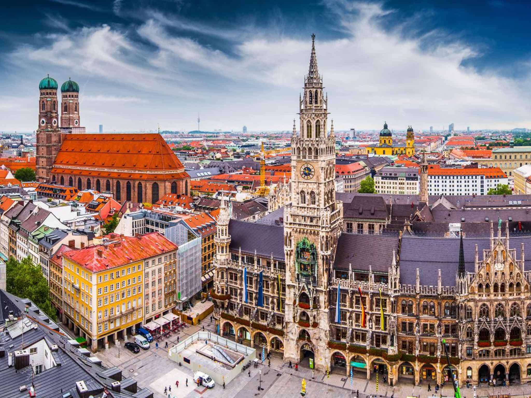 Munich - thành phố công nghiệp của nước Đức – Alibaba Tours