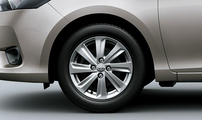 Mâm đúc hợp kim của Toyota Vios 2017 1.5E MT