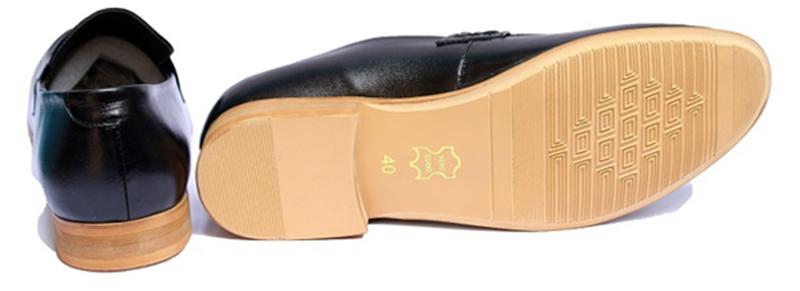 Giày lười da nam -3