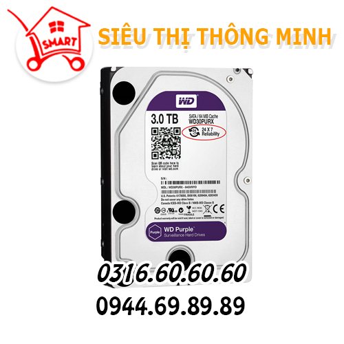 Ổ cứng WD 3.0TB