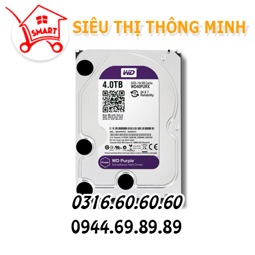 Ổ cứng WD 4.0TB