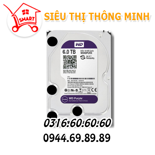 Ổ cứng WD 6.0TB