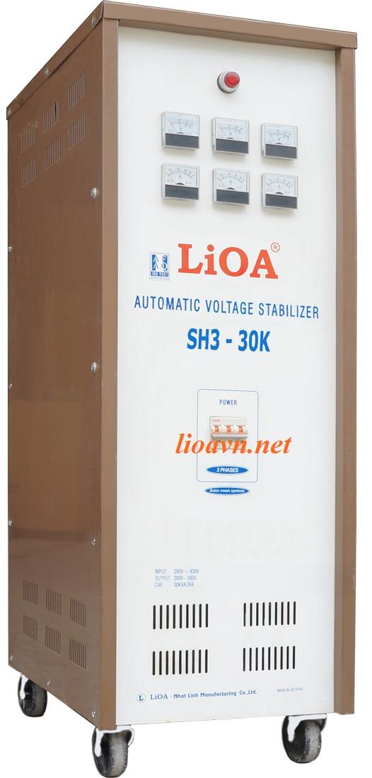 lioa 30kva 3 pha - sh3-30k