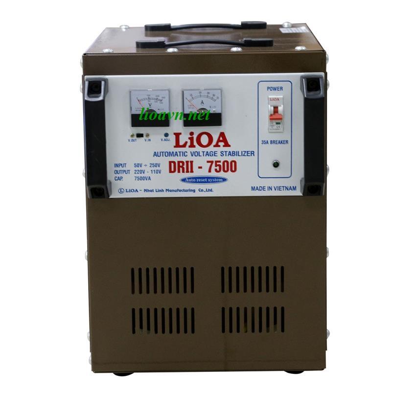ổn áp lioa 7.5kva DRII-7500 - lioavn.net