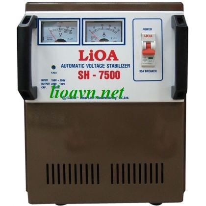 ổn áp lioa 7,5kva  SH-7500 - lioavn.net
