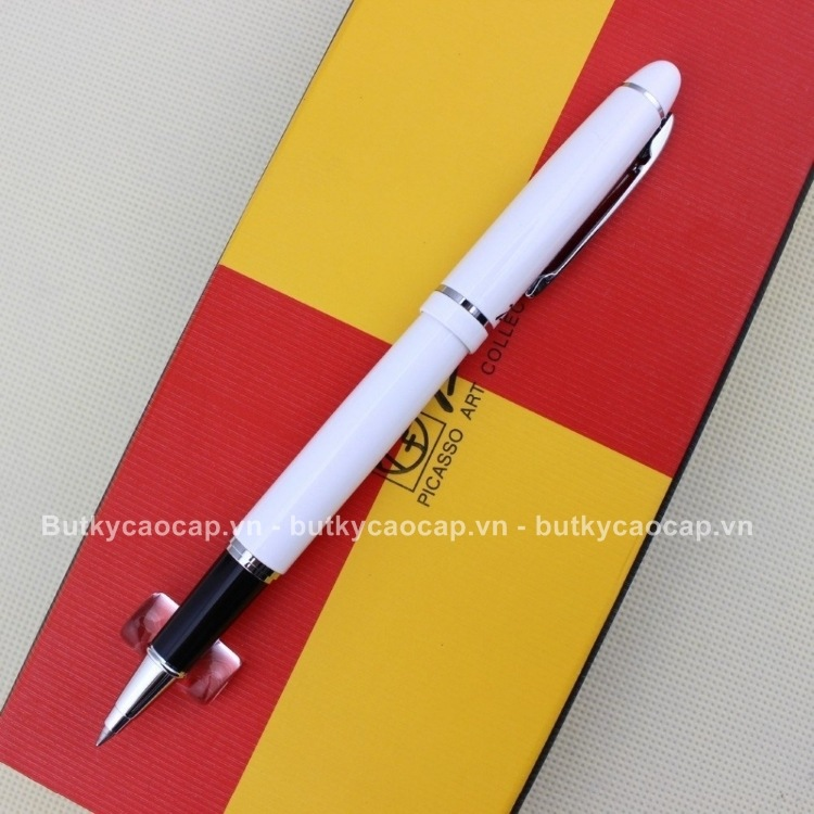 Bút dạ bi Picasso PS-608 màu trắng