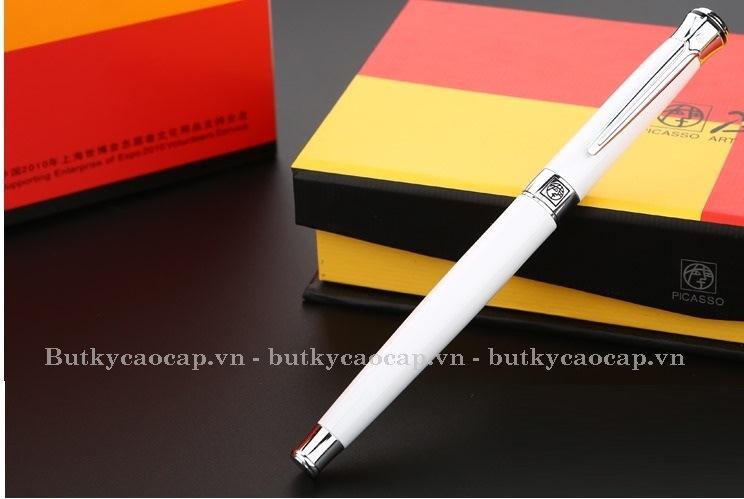 Bút dạ bi cao cấp Picasso PS-903RWH màu trắng