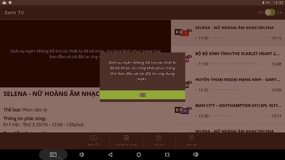 Cập nhật firmware mới nhất cho tv box Zidoo xem MyK+