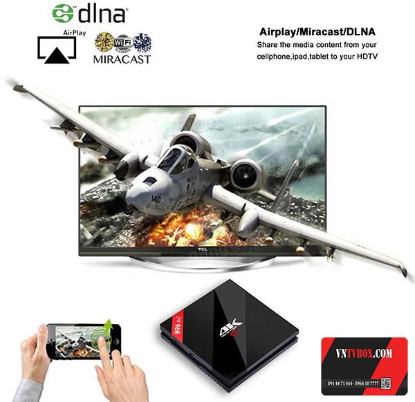 Alfawise TV Box H96 Pro Plus Ram 3GB ROM 32G thách thức siêu phẩm 2017