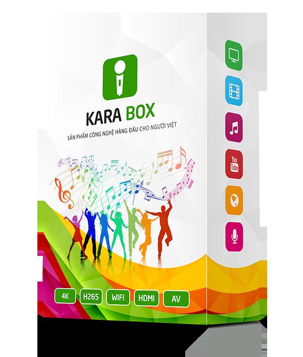 Android box chính hãng KaraBox K1 xem TV miễn phí Karaoke thỏa thích